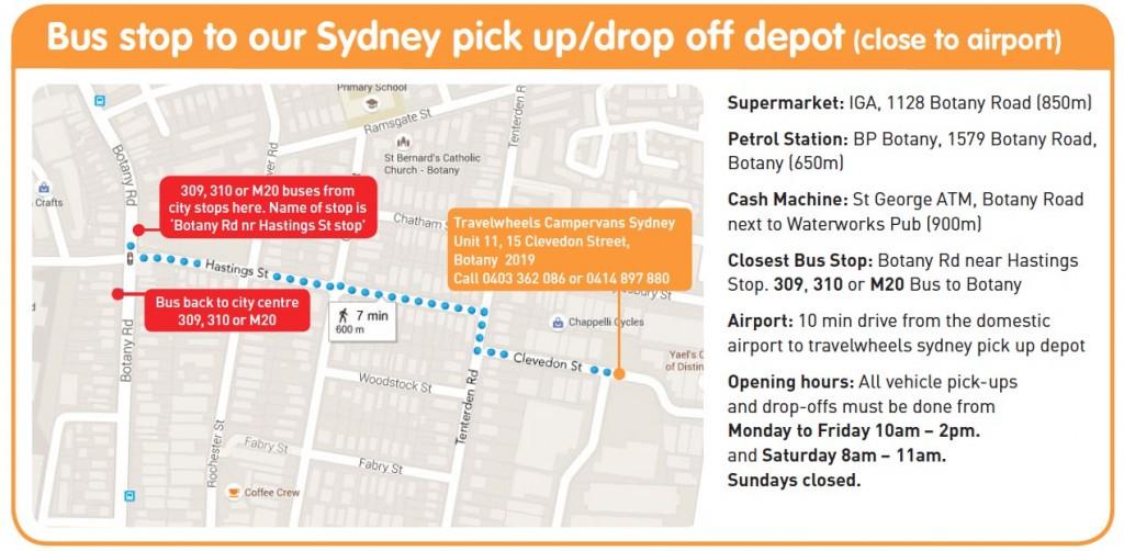 Location Van Sydney avec Travelwheels Australie