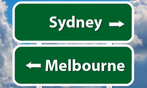 Sydney à Melbourne