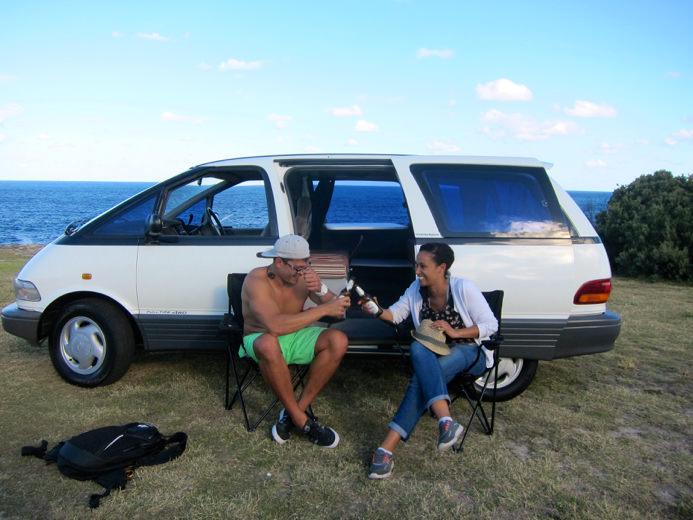 Tarago Travelwheels Campervans promo
