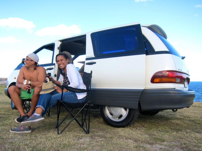 Van Tarago chez Travelwheels Campervan