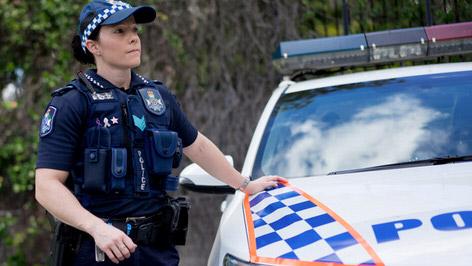 police woman - Amendes en Australie